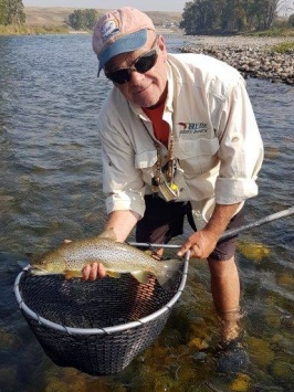 Tom Windsor is the favourite guide of all fishing guides in Calgary.